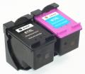 hp 61XL増量 黒1個+カラー1個<リサイクル>2個セット ENVY 5530 4500 4504 OfficeJet4630 用 送料無料 インク残量表示