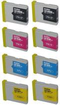 ブラザー LC10 ●安い互換 お好み8本セット 【送料無料】
