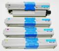 沖電気 OKI TNR-C4J リサイクルトナー C301dn 4色お好みセット TNR-C4JK1 ブラック TNR-C4JC1 シアン TNR-C4JM1 マゼンタ TNR-C4JY1 イエロー 送料無料