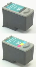 キヤノン BC-90+BC-91 セット <リサイクル> 黒、カラー各1合計2個セット【残量表示タイプ】【送料無料】
