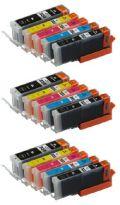 キャノンBCI-350XL+BCI-351XL★スーパー低価格互換インク限定補償品★15個 お好みセット【送料無料】