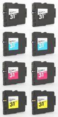 リコー GC31 4色2セット 合計8個◆高品質互換インク GXカートリッジ【送料無料】