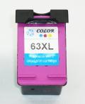 安心一年代替補償 hp 63XL 増量 リサイクル カラー インク残量表示 ENVY 4520 OfficeJet 4650 5220