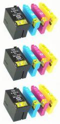 エプソンIC4CL75★スーパー低価格大容量互換インク・代替補償付★12個セット【送料無料】