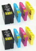 エプソンIC4CL76★スーパー低価格大容量互換インク・代替補償付★8個セット【送料無料】