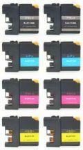 ブラザーLC113-4PK▲激安互換インク▲ICチップなし▲お好み8個セット C-J4510N・DCP-J4210N用