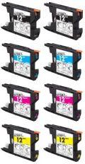 ブラザーLC12 お好み8本セット◆互換インク・国内メーカー製・サポート付◆【送料無料】