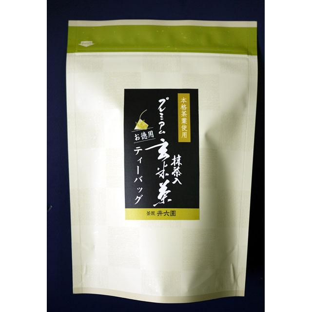抹茶入玄米茶 【プレミアムティーバッグ】 (3g×30P) TBG-10