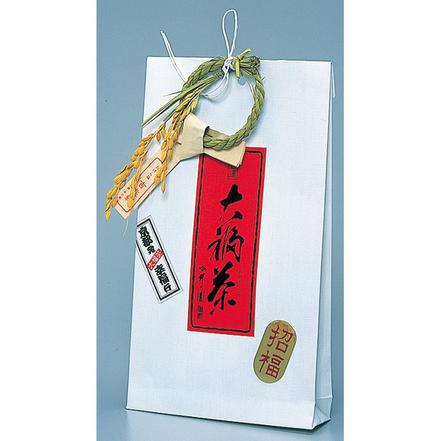 大福茶 OF-10 煎茶30g、福梅・福昆布(各5客)、金箔、吉兆縄