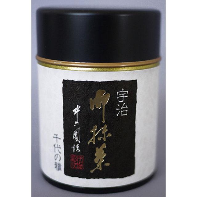抹茶 (千代の雅 薄茶/30g)