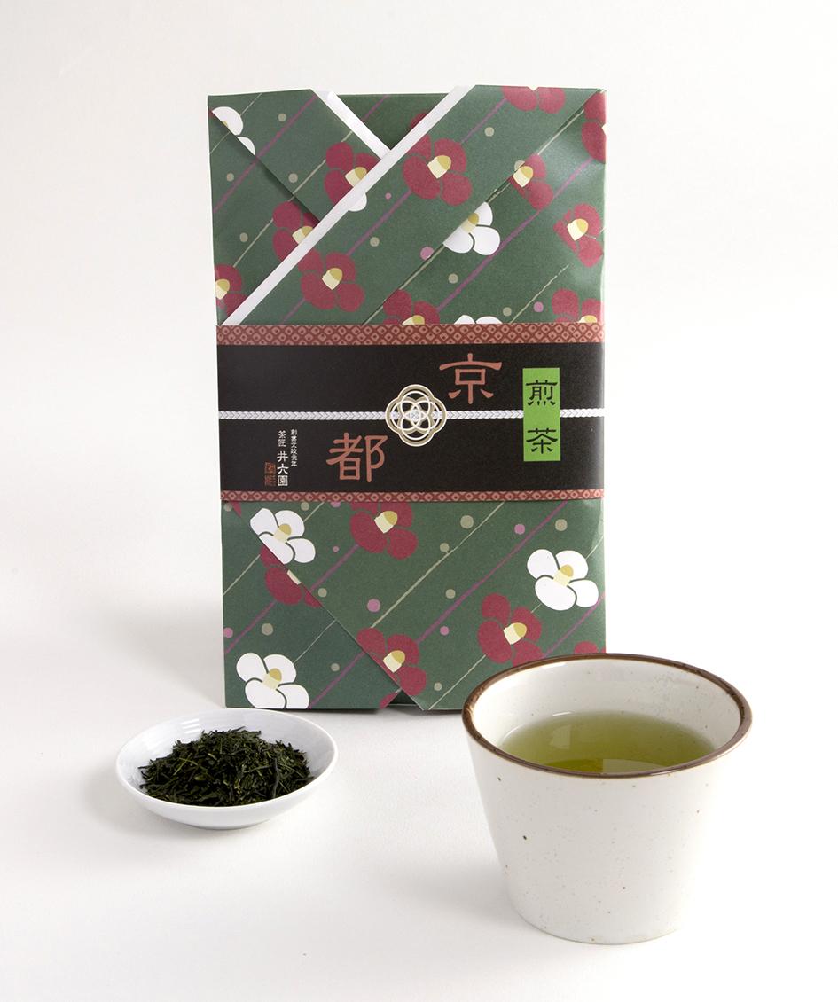 宇治煎茶 KIS-10(100g) 着物シリーズ