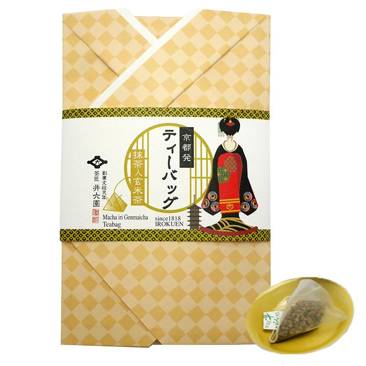 ティーバッグ抹茶入玄米茶(3g×3P)