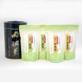 【お徳用・保存用の黒缶付き】抹茶入煎茶(200g)×2袋、抹茶入玄米茶(200g)×2袋