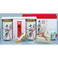 大福茶 OF-50 煎茶(150g×2)、福梅・福昆布(各10客)、金箔、吉兆縄、干支置物