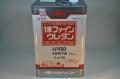 【塗料のユーティリティプレイヤー】 日本ペイント「1液ファインウレタンu100」 木部用下塗り チョコ淡 15kg ニッペ