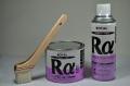 ローバルアルファ0.7kg刷毛塗タイプ&ローバルアルファスプレー420ml&50ミリ刷毛1本のセット