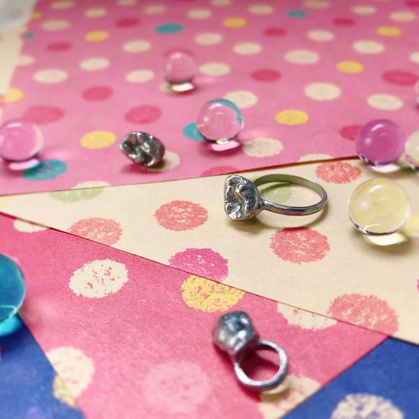 アクセサリー 乳歯 リング 指輪 プレゼント