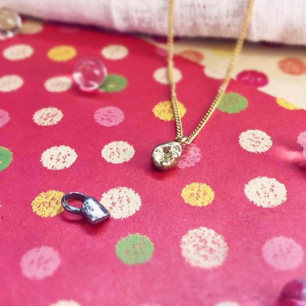 アクセサリー 乳歯 ネックレス プレゼント リング 指輪