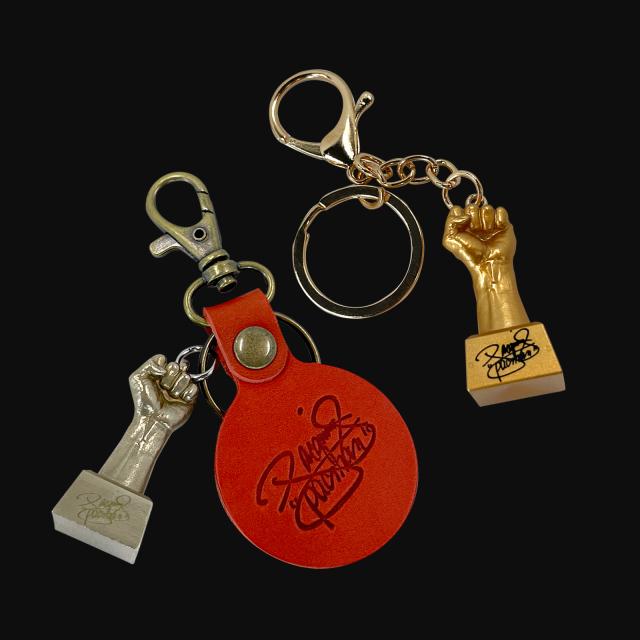 マニー・パッキャオの左拳キーホルダー【Pacquiao's fist key ring】