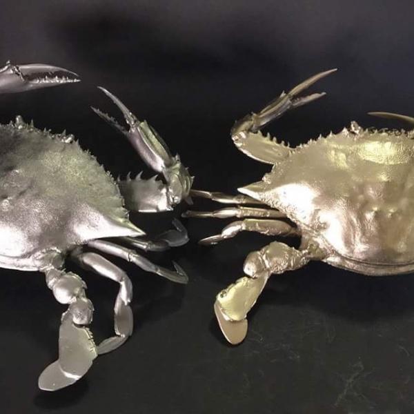 渡り蟹 かに オブジェ 職人技 キャステム リアル