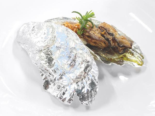 牡蠣の平皿