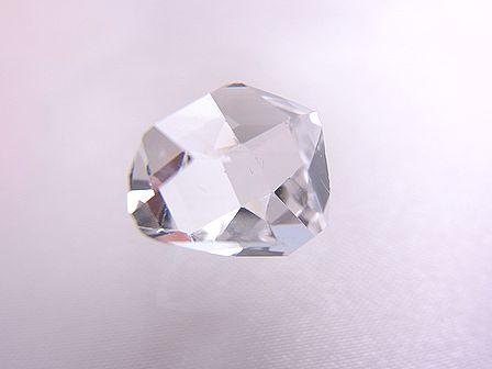 ハーキマーダイヤモンド ☆ 煌きが美しい最高品質ルース(原石) 12 mm/4.0 カラット