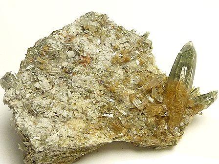 ヒマラヤ水晶クラスター ☆ クローライト入り ラパ産ガネーシュヒマール水晶 ☆
