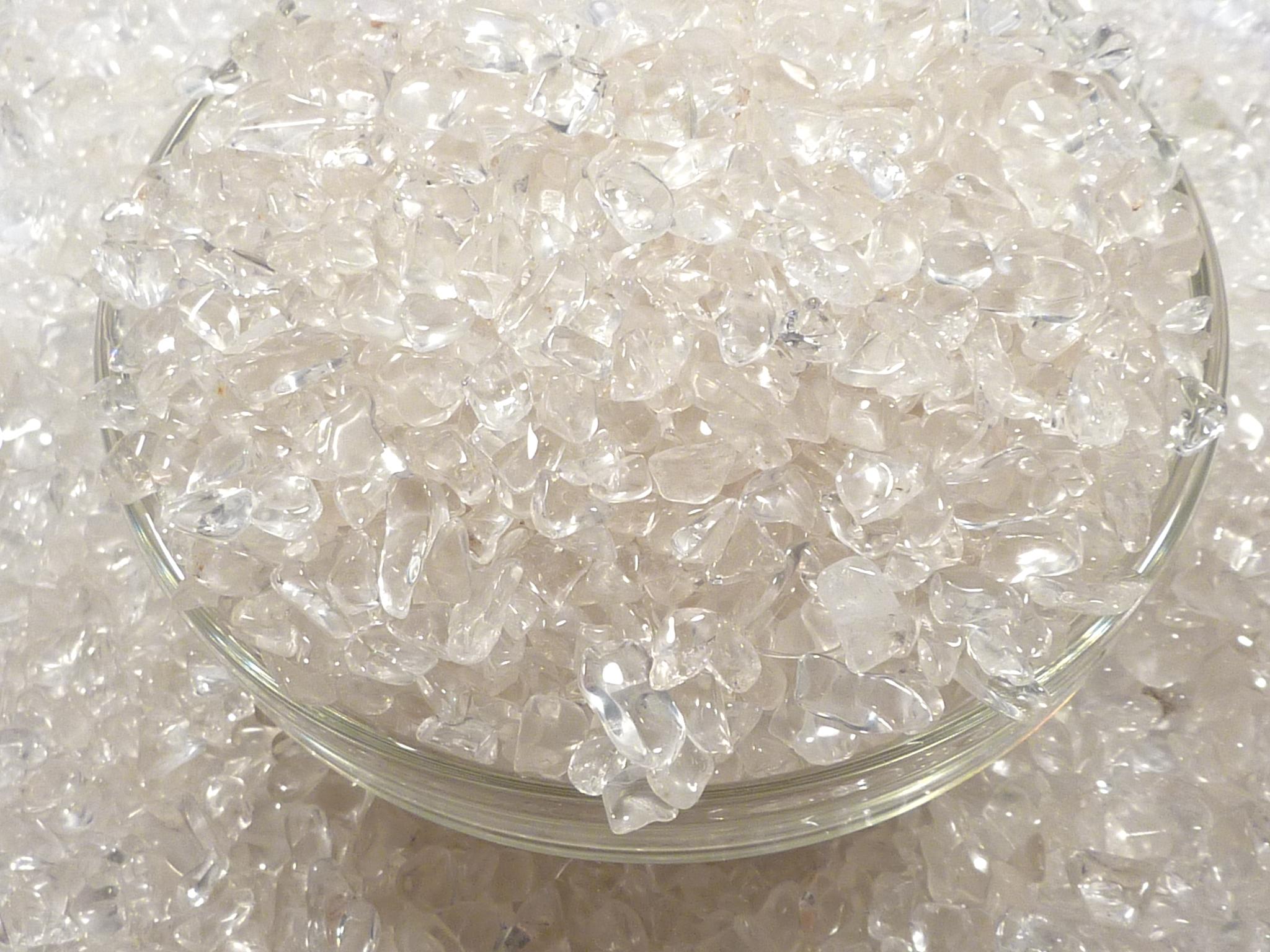 高品質 ヒマラヤ水晶さざれ (100g)