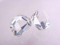 ハーキマーダイヤモンド ☆ 煌きが美しい最高品質ルース(原石)2粒! ☆ 12 mm &11 mm/6.0 カラット