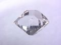 ハーキマーダイヤモンド ☆ 煌きが美しい最高品質ルース(原石) ☆ 13 mm /4.0 カラット