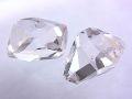 ハーキマーダイヤモンド ☆ 煌きが美しい高品質ルース(原石)2粒! ☆ 14 mm &13 mm/11.0 カラット
