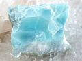 ラリマー 原石 母岩つき ☆ 1面磨き