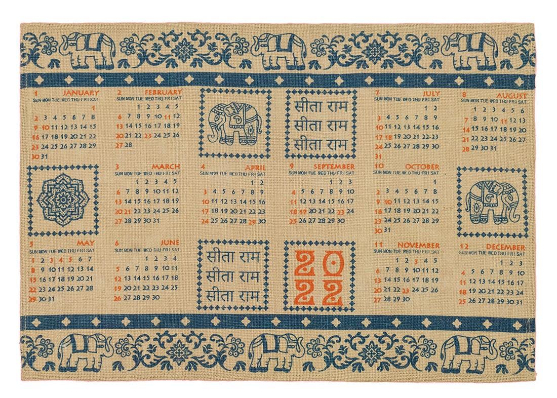カレンダー2022