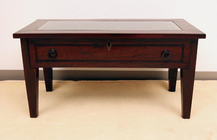 < 横幅 70cm >ディスプレイでいろいろ楽しめる!コレクションテーブル【N-053BR】《送料無料》