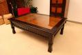 < 横幅 70cm >憧れの南国ヴィラのテーブルが今、あなたのお部屋に【A-009L70BR】《送料無料》
