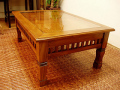 < 横幅 70cm > 憧れの南国ヴィラのテーブルが今、あなたのお部屋に※受注後特別制作商品※【A-009L70NT】