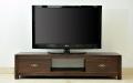 < 横幅 150cm >高さ35cmロータイプのテレビボード。 アジアンモダンなデザインが人気の定番商品【AS-059】《送料無料》 セミオーダー対応