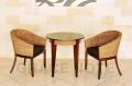 《送料無料》スタイリッシュなデザインが魅力的なラウンドカフェテーブル【WCT-01】