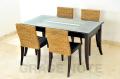 《送料無料》食卓を優雅に彩るダイニングテーブル【WDT-05】