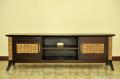 《送料無料》脚のデザインが特徴的なニューアジアンスタイルTVボード【WTV-06】