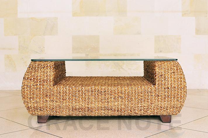 【送料無料】【 横幅 100cm 】◆売筋商品◆曲線が美しいヒヤシンスローテーブル(丸型)【WLT-07】