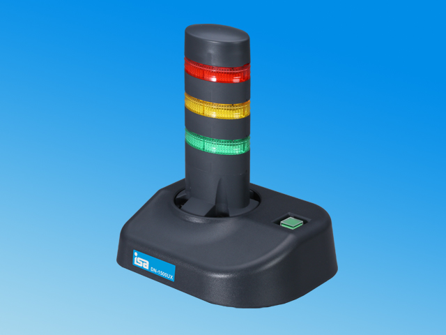 (UX-153) 警子ちゃん4UX USB/接点入力(DI)接続モデル <3灯モデル> DN-1500UX-3L
