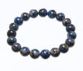 ブレスレット K2ブルー AAA' 限定色 ブラック 10φ 19玉 No.11