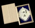 ブレスレット 天然水晶 64面カット(8mm玉)