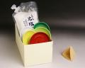 風水盛り塩セット(固め器:三角錐)