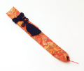 龍笛袋 金襴房付 暖色系