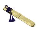 龍笛袋 正絹 錦袋(金襴)房付
