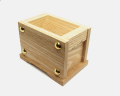 小型賽銭箱 栓材 4寸