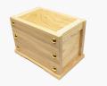 小型賽銭箱 栓材 6寸
