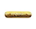 小宮丸鉾金具 銅地特上本金鍍金 一文字2分×1寸